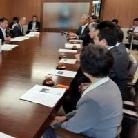 池田工業高校へ専攻科2年制設置の要望。