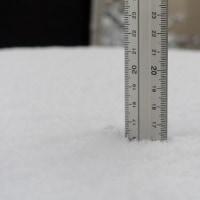 知多半島も雪です
