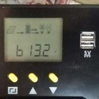 ソーラーチャージコントローラー設置