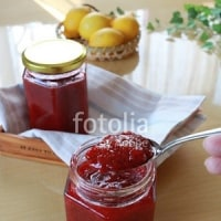 fotolia「瓶に入ったイチゴジャム」 収穫イチゴで作りました☆