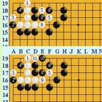 囲碁死活1019官子譜