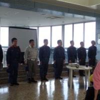 消防避難訓練実施