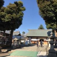 松陰神社を初詣 -2017年 正月-