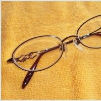 思いとどまったメガネ