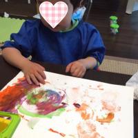 ダイソーの絵の具と粘土☆