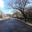 行幸坂の鉄骨のトンネルと奉行丸南東石垣の崩壊