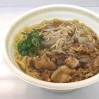 肉盛り中華そばを頂きました。 at セブンイレブン 横浜クロスゲート店