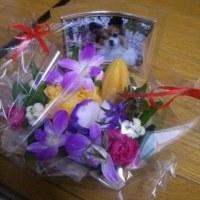 500円の花