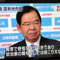 異常で奇怪な取引であり、政治家の関与なしでは起こりえない/大阪の国有地売却について共産党:志位委員長