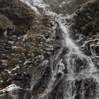 2017.1.15 小金滝 * 高知県大川村 * 氷瀑