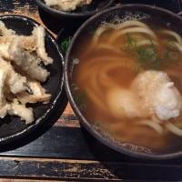 山元麺蔵のゴボ天とおうどん