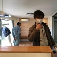 深く大きな基礎で支える重量鉄骨で津波に耐える家の社内検査をしました!