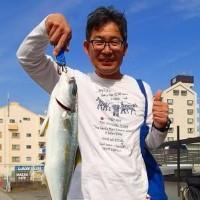 2017/05/29 国府津海岸でヒラマサ