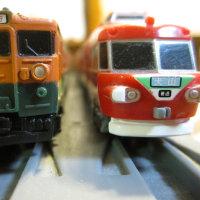 汽車と電車