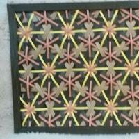 牡丹華編み