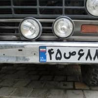 イランの車のプレートナンバー、読めますか?