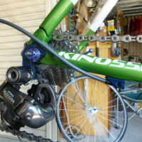 ロードバイク 洗車後のオイルアップと各部の点検
