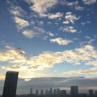 10/18の朝の空