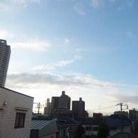 今朝(12月3日)の東京のお天気:晴れ