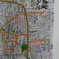 八ヶ岳マップ 手書き