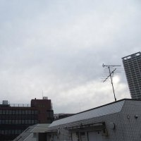 東京の今朝の天気(1月19日):曇り
