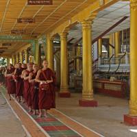 ミヤンマー チャッカワイン僧院