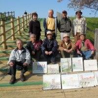 4月14日(金) 水彩画写生会 赤羽 岩淵水門