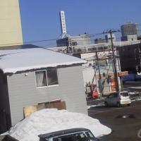 2017/3/26  8時半過ぎ札幌の空模様