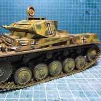 Panzer Kampfwagen II の工作その4
