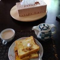 フレンチトーストとイングリッシュカフェ