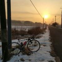 今年も終です自転車走行記録