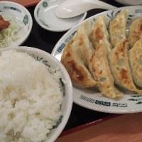 日高屋 ダブル餃子定食 大久保
