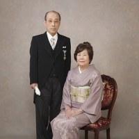 叙勲記念写真ご夫婦撮影しました!!