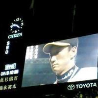 前半戦最終試合も白星で~お立ち台は金本&藤川~