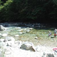 岐阜 付知川 本谷オートキャンプ場