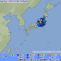 ��The Fukushima Crisis873/ M 6.8 Quakes.�Ͽ̤ε��ϡʥޥ��˥��塼�ɡˤ�6.8
