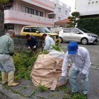 道路環境整備ボランティア  みんなで頑張っています