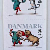 デンマーク かわいい北欧の切手デザインとフレメ クロスステッチ