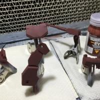 模型製作ツール 茶系サフ