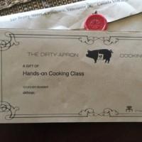 問題児ジーナ、The Dirty Apronクッキングクラス