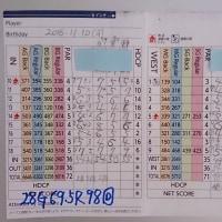 今日のゴルフ挑戦記(71)/東名厚木CC イン(A)→ウエスト