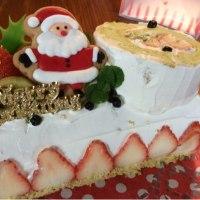 クリスマスケーキの受付