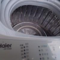 作業服を洗う洗濯機を買いました