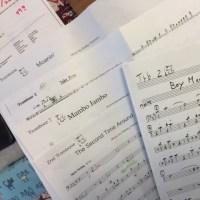 2017年5月21日  アネックスジャズバンド練習