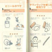 災害時マニュアル書籍の挿絵イラスト(カット)