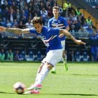 2016-17 SERIE A 第31節 SAMPDORIA 2-2 Fiorentina スペクタクルな打ち合いはドロー