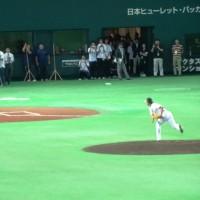 斉藤和巳感謝のセレモニー