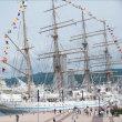 神戸港開港150周年~帆船を見に行きました♪