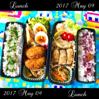 5月9日(火)10日(水)のお弁当