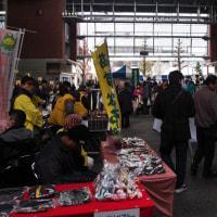 ボランティアフェスティバルと中心商業地
